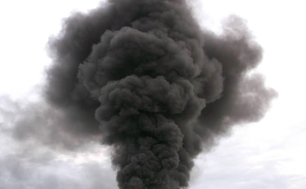 черный дым СГК